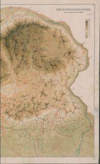 Schema oro-idrografico, strade, teleferiche dell'Altopiano dei sette comuni : [Altopiano di Asiago]