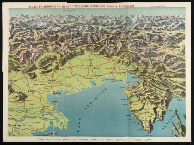 Cartina Geografica Di Viterbo E Provincia.Mappe E Carte Geografiche 1418 Documenti E Immagini Della Grande Guerra