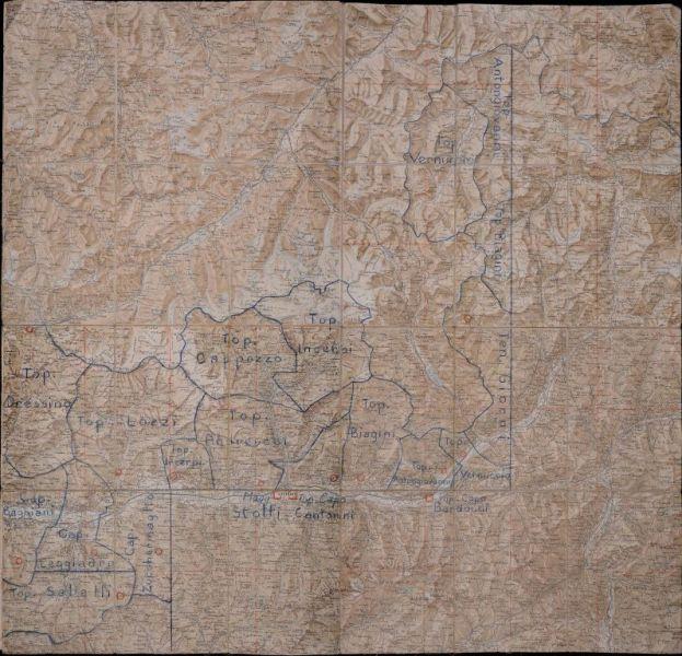 Cartina Storica Prima Guerra Mondiale.Mappe E Carte Geografiche 1418 Documenti E Immagini Della Grande Guerra