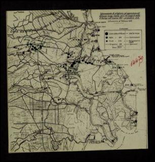 14479. Schieramento di artiglierie e apprestamenti difensivi lungo l'Adige ed il Po eseguiti dalla R. Marina nell'inverno 1917 - primavera 1918 (situazione al febbraio 1918)