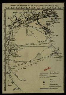 14480. Impiego dei monitors nel golfo di Trieste nell'agosto 1917