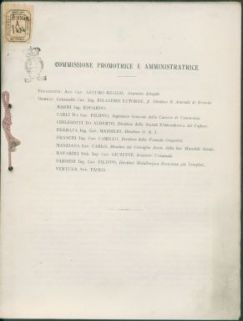 Istituzione della 1. sezione diurna della scuola Moretto : attrezzisti, tornitori, elettromeccanici, lavoranti d'armi, modellisti : relazione al Consiglio comunale nella seduta del 16 febbraio 1917