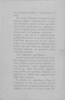 Il Papa e il Congresso per la Pace / Gennaro Avolio