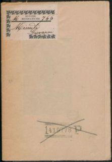 Giovanni Minuti : note biografiche / Attilio De Fusco