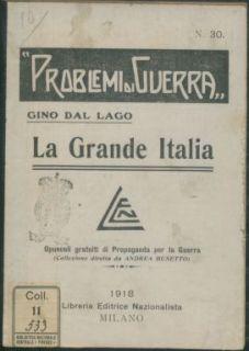 La grande Italia : Squilli di verità