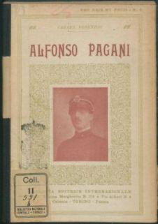 Alfonso Pagani, tenente del 19 cavalleggeri Saluzzo, caduto sul Carso il 12 Dicembre 1916 / Cesare Orsenigo