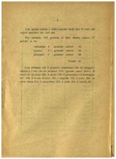Il problema dell'alimentazione di guerra : opuscolo popolare edito a cura della civica amministrazione / dott. Luigi Biggini