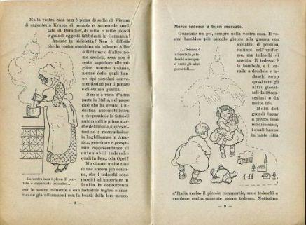 Guerra senza sangue : per la nostra indipendenza economica / M. Calò! ; disegni di Filiberto Scarpelli