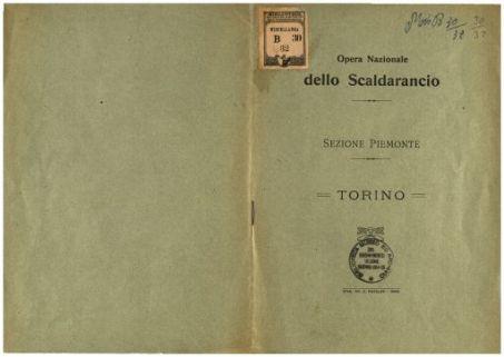 Opera nazionale dello Scaldarancio : sezione Piemonte : Torino