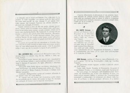 A ricordanza perenne degli alunni gloriosi caduti perche la patria viva, 1915-1918