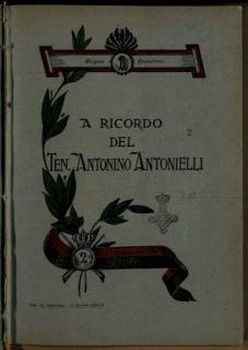 A ricordo del ten. Antonino Antonielli