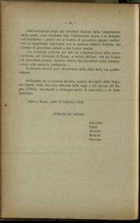 Atti di governo e norme regolamentari per i risarcimenti di danni provocati da atti di ostilità del nemico contrari ai principi del diritto di guerra : aprile 1916