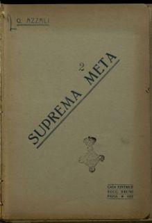 Suprema meta / Giovanni Azzali