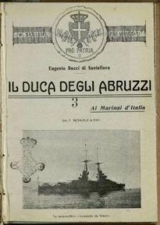 Il duca degli Abruzzi ai marinai d'Italia / Eugenio Bucci di Santafioria