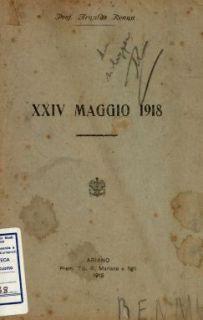 24 maggio 1918 / Arnaldo Renna