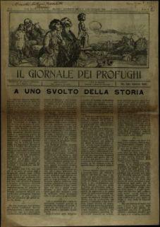 Il giornale dei profughi