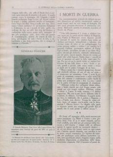 Il giornale della guerra : cronistoria illustrata, documentata della Guerra europea 1914