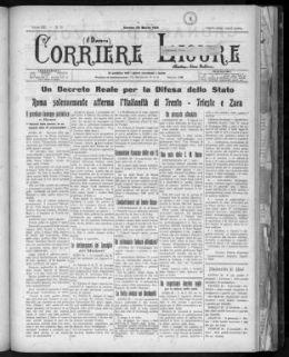 Il dovere : Corriere ligure