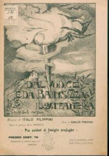 Dal Vodice e da Bainsizza il 241 fanteria : canto e pianoforte. Versi di Emilio Pinchia