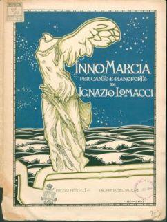 Inno-marcia per canto e pianoforte / [versi di] Ernesto Staibano
