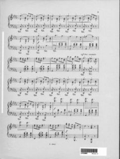 Marcia della vittoria : per pianoforte