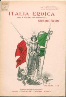 Italia eroica : Inno di Guerra per pianoforte