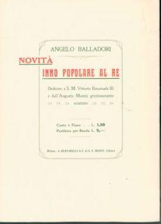 Alba Novella : Inno patriottico su versi di Giuseppe Sciajno Turrisi. Canto e piano