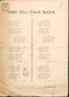 Inno dell'Italia nuova / parole di Cesare Brighenti Rosa ; musica di Melchiorre Rosa