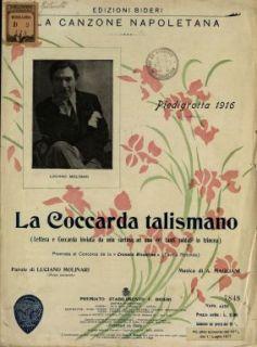 La Coccarda talismano  / parole di Luciano Molinari  ; musica di A. Magliani