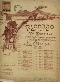 A canzone d' o surdato  : marcia  / musica di G. Del Vecchio  ; versi di A. Fiordelisi