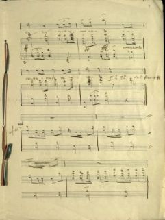 Italia Avanti! | Versi Giuseppe Candida Musica Edefuarnieri [!] | Zona Guerra 18-9-17 3° Genio Teleg