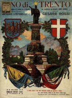 Inno di Trento  : per pianoforte solo  / parole del Dott. Antonio Stefenelli  ; musica del M.o Cesare Rossi