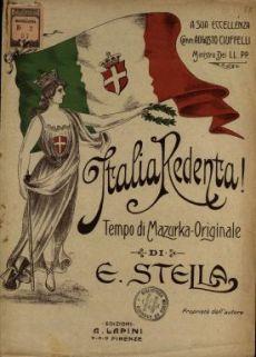 Italia redenta!  : Tempo di mazurka-originale  / E. Stella
