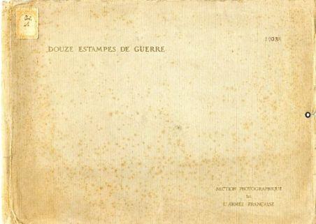 Douze estampes françaises sur la guerre