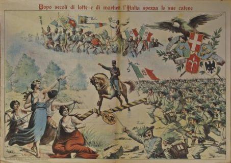 Dopo secoli di lotte e di martirii l'Italia spezza le sue catene / G. Gulmanelli